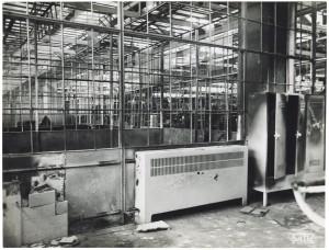 FIAT Autocentro - Stabilimento di Mirafiori. Effetti prodotti dal bombardamento dell'incursione aerea del 20-21 novembre 1942. UPA 2202_9B06-43. © Archivio Storico della Città di Torino