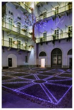 Luci d'Artista Richi Ferrero Il Giardino Barocco Verticale