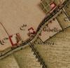 Cascina Gibellino. Carta Topografica della Caccia, 1760-1766 circa. © Archivio di Stato di Torino