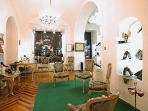 Puccio calzature, interno, Fotografia di Marco Corongi, 2005 ©Politecnico di Torino