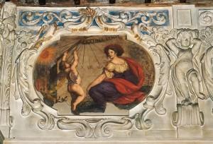 Palazzo Lascaris, Sala delle Virtù e delle Arti liberali, Allegoria del Tempo