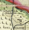 Cascina Magra. Amedeo Grossi, Carta Corografica dimostrativa del territorio della Città di Torino, 1791. © Archivio Storico della Città di Torino