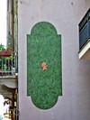 Mercurio, Canto metropolitano, 1995, opera murale per MAU Museo Arte Urbana, via Musinè 27. Fotografia di Alessandro Vivanti, 2011. © MuseoTorino