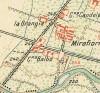 Cascina Cassotti Balbo, La Balbo. Istituto Geografico Militare, Pianta di Torino e dintorni, 1911. © Archivio Storico della Città di Torino