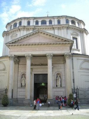 Santuario della Consolata. Fotografia di Daniele Trivella, 2013