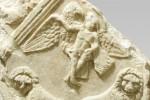 Stele funeraria, probabilmente reimpiegata, da corso Palermo