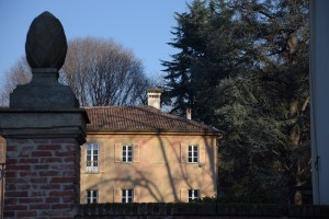 Orologio solare, Villa Musy