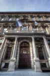 Michelangelo Garove, Collegio dei Nobili, 1679-1690. Portale monumentale di Giuseppe Talucchi 1824 (ingresso del Museo Egizio) Fotografia di Mattia Boero, 2010. © MuseoTorino.