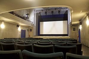 Interno Cinema Teatro Agnelli. Fotografia 2018