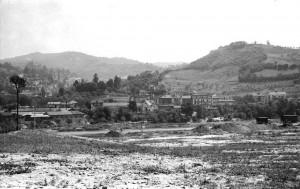 Terreni vuoti e sistemazione argini Po, area Italia 61, 1957© Archivio Storico della Città di Torino (FT 12C02_002)