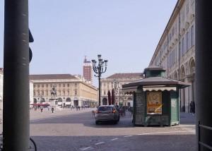 Piazza San Carlo. Fotografia di Luca Davico, 2017