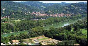 Il parco Colletta (scorcio lungo il fiume Po). Fotografia di Michele D'Ottavio, 2009. © MuseoTorino.