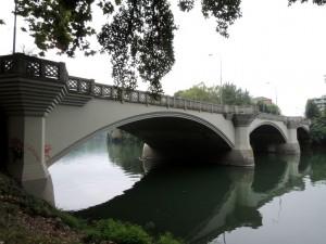 Ponte di Sassi, ex Ponte Principi di Piemonte. Fotografia di Edoardo Vigo, 2012.