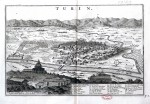 Veduta di Torino, 1729