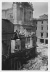 Via Santa Teresa, Chiesa di Santa Teresa. Effetti prodotti dai bombardamenti dell'incursione aerea del 13 luglio 1943. UPA 3613_9D06-58. © Archivio Storico della Città di Torino/Archivio Storico Vigili del Fuoco