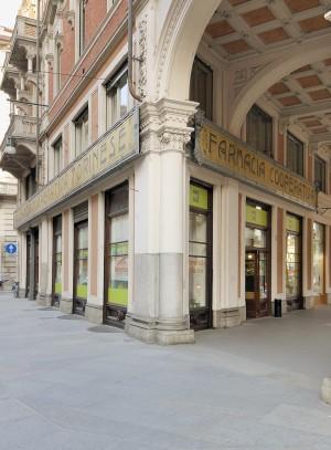 Restaurant Cafè EXKI, già Farmacia Alleanza Cooperativa Torinese n. 3