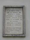 Lapide dedicata a Giovanni Plana. Fotografia di Elena Francisetti, 2010. © MuseoTorino