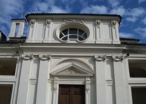 Facciata della cappella. Fotografia di Lorena Cannizzaro, 2012.