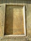 Lapide dedicata a Ottavio Thaon di Revel. Fotografia di Elena Francisetti, 2010. © MuseoTorino