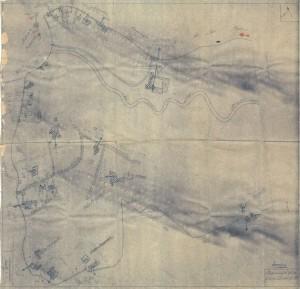 Bombardamenti aerei. Censimento edifici danneggiati o distrutti. ASCT Fondo danni di guerra inv. 2531 cart. 52 fasc. 1. © Archivio Storico della Città di Torino