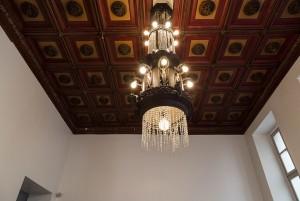 Tip to toe, estetica; ex Caffè Bogino, particolare del soffitto, 2017 © Archivio Storico della Città di Torino