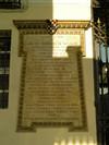 Lapide dedicata a Luigi des Ambrois di Nevache. Fotografia di Elena Francisetti, 2010. © MuseoTorino