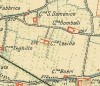 Cascina Lesna. Istituto Geografico Militare, Pianta di Torino e dintorni, 1911. © Archivio Storico della Città di Torino