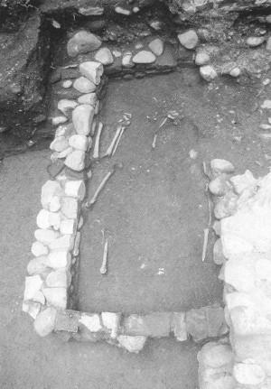 Tombe altomedievali in via Botero 15