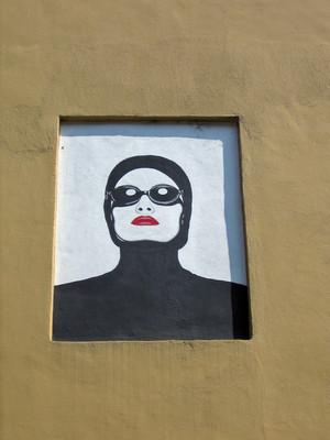 Antenore Rovesti,Senza titolo, s.d., opera murale per MAU, via Rocciamelone 12a. Fotografia di Alessandro Vivanti, 2011. © MuseoTorino