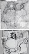 Pietro Arduzzi. Altre soluzioni progettuali per Asti. © Biblioteca Reale di Torino.