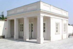 Edificio di servizio all'area del mausoleo della Bela Rosin, 2005 © EUT 10