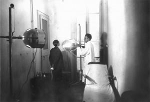 Il Birago di Vische in un'immagine d'archivio. Seduta di terapia. Archivio Storico Relazioni Esterne ASL1.