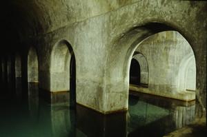 Primo tratto di acquedotto