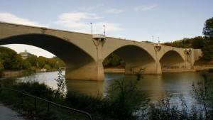 Ponte Balbis, ex Ponte Vittorio Emanuele III. Fotografia di Edoardo Vigo, 2012.
