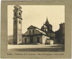 Duomo di San Giovanni. Fotografia Fondo Dall'Armi-Cagliero. © Archivio Storico della Città di Torino