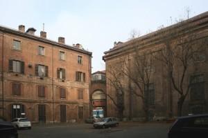 La corte sud-orientale. Fotografia di Enrico Lusso per Museo Torino.