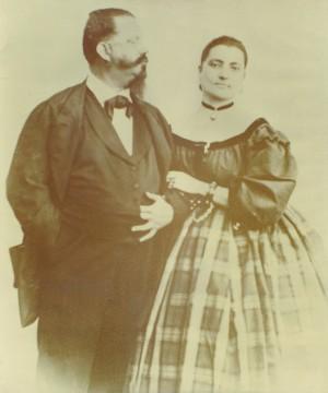 Vittorio Emanuele II e Rosa Vercellana © Archivio Parco della Mandria
