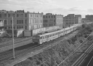 Docks di corso Dante (vista verso sud). Fotografia di Paolo Arlandi, 1991