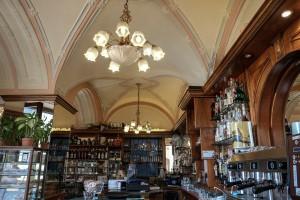 Caffè Vittorio Veneto, particolare delle volte, 2017 © Archivio Storico della Città di Torino
