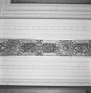 Pasticceria Romana Succ. Bass, Giulio Casanova, particolare, in L'Architettura Italiana, n. 6, giugno 1920