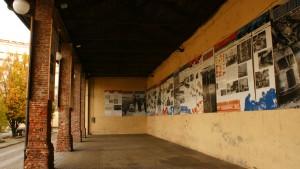 Tettoia/fienile della cascina Giajone. Fotografia di Edoardo Vigo, 2012.
