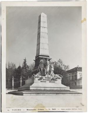 Luigi Belli, Monumento alla spedizione di Crimea, 1888. Fotografia di Giancarlo Dall'Armi. © Archivio Storico della Città di Torino
