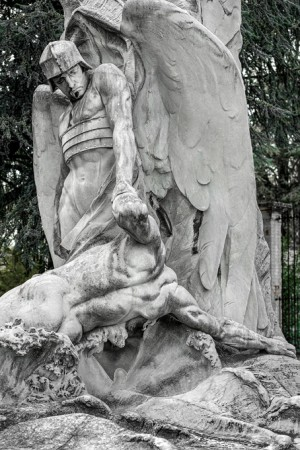 01 AVII Cesare Reduzzi (1857-1912), Monumento a Benedetto Brin, 1905(viale centrale, 1). Fotografia di Roberto Cortese, 2018
