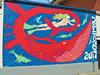 Antonio Mascia,Senza titolo, 2000, opera murale per MAU, Piazza Moncenisio-via Ceres. Fotografia di Alessandro Vivanti, 2011