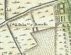 Cascina Borsello. Amedeo Grossi, Carta Corografica dimostrativa del territorio della Città di Torino, 1791. © Archivio Storico della Città di Torino