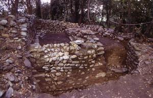 Bric San Vito. La torre in corso di scavo. © Soprintendenza per i Beni Archeologici del Piemonte e del Museo Antichità Egizie.
