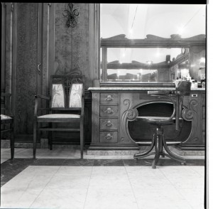 Stile Liberty, parrucchiere, interno, 1998 © Regione Piemonte