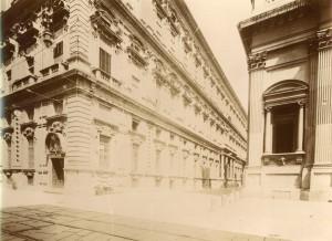 Collegio dei Nobili. Fotografia di Mario Gabinio, 15 agosto 1925. © Fondazione Torino Musei - Archivio fotografico.
