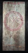 Lapide funeraria del vescovo Ursicino (562-609/610) affissa all'interno del Duomo.© Museo Diocesano di Torino / Soprintendenza per i Beni  Archeologici del Piemonte