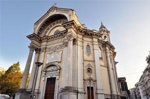 Giuseppe Gallo, Parrocchia di Sant'Alfonso, 1899. Fotografia di Mauro Raffini, 2010. © MuseoTorino